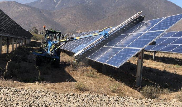 Česká firma Solek získala další miliardy na stavbu solárů v Chile
